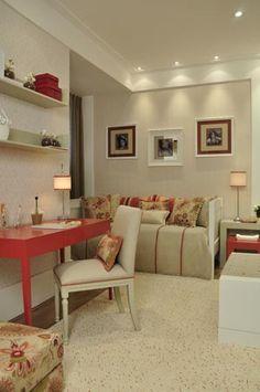 No showroom Casa Mineira, quarto de solteiro assinado por Silvana Lara Nogueira, no showroom Casa Mineira.