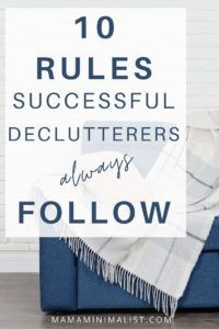 Want to declutter your home but have no idea where to start? Decluttering starts by first understanding that there is a difference between declutterers and *successful* declutters. Successful declutters are dedicated to keeping their homes tidy for the long haul, and many follow 10 vital (but rarely touted) secrets. Inside: 10 tricks to help you successfully tidy your home for good (and keep it that way!). Entryway Organization, Life Organization, Declutter Your Home, Organizing Your Home, Just Do It, That Way, Sunk Costs, Built In Desk, Minimal Decor