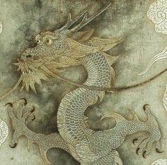 Chinese dragon (detail) - Toshiyuki Enoki