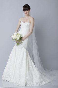 wedding dresses   2013 wedding dress by Theia bridal gowns lace mermaid