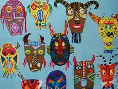 african art projects for elementary During their unit on Africa, students in the Elementary School . African Art Projects, African Art For Kids, 4th Grade Art, Africa Art, School Art Projects, Art Lessons Elementary, Art Lesson Plans, Art Classroom, Art Plastique
