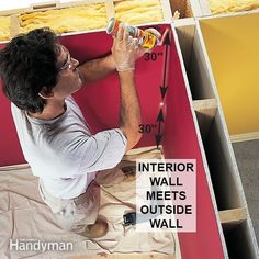 Persistent mold on a wall near an inside corner may be due to an insulation problem in the corner framing. Here's how to find it and fix it. #easiestwallpaperremovaltips