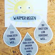 """@fliegendes_klassenzimmer du hast mich inspiriert auch ein eigenes """"Warme Dusche""""-Plakat zu erstellen. Danke für die tolle Idee!  Habe es…"""