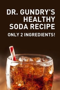 Love drinking soda, but you know that it is not good for you? Try this easy do-it-yourself healthy soda recipe that only requires two ingredients. Lectin Free Foods, Lectin Free Diet, Low Lectin Foods, Smoothie Recipes, Diet Recipes, Cooking Recipes, Healthy Recipes, Healthy Tips, Smoothies
