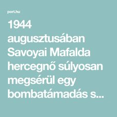 1944 augusztusában Savoyai Mafalda hercegnő súlyosan megsérül egy bombatámadás során a buchenwaldi koncentrációs táborban. A tábori bordélyban sebesülten fekve visszaemlékszik korábbi életére. Mafalda, III. Viktor Emánuel olasz király lánya a gazdag arisztokraták fényűző életét élte, előbb Olaszországban, majd amikor az egész világgal dacolva férjhez ment egy Hitler belső köréhez tartozó őrgrófhoz, Németországban. Egy idő után azonban szembeszegült a náci rendszerrel, sőt a férjét is…