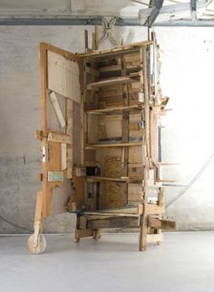 Crazy shanti town upcycled furniture from Godspeed studio,This is their trashcollection a collection that uses rubbish and decay asits inspi...