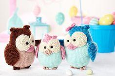 Ravelry: Owl family pattern by Amanda Berry
