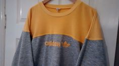 Men s Medium vintage Adidas sweatshirt jumper retro rare 90s classic originals £65.00 (34B)