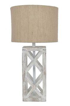 Ian - Natural - Wood Table Lamp (1/CN)