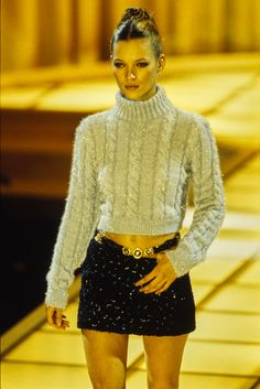 Versace Fall 1994 Ready-to-Wear Model: Kate Moss