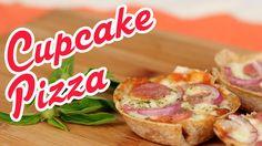 Cupcake Pizza - Cozinha pra 1 - YouTube