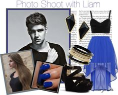 """""""Photo Shoot with Liam"""" by miss-janelle ❤ liked on Polyvore"""