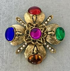 LOV'D vintage couture jewelry, accesories and objects by LandOfVastDesires Byzantine Gold, Sphinx, Christian Symbols, Maltese Cross, Baroque Pearls, Jewelry Patterns, Couture, Crystal Rhinestone, Vintage