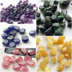 Rough Precious Gemstones - View our range in ruby, blue sapphire, emerald, yellow sapphire. These are beautiful in their raw and rough form. Only available on Gemsforjewels. Shop now - Flat 45% on all items!!!