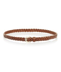 A summer style essential this plaited leather belt can be worn on pants and jeans or styled on the waist with a knotted strap. Plaits, Fashion Essentials, Belt, Chic, Bracelets, Leather, Accessories, Jewelry, Style