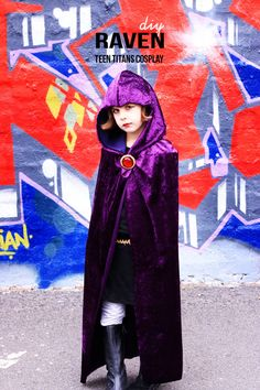 DIY: Raven Teen Titans Cosplay | My Poppet Makes
