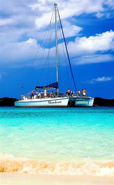 Take this excursion to St. John every time we cruise to St. Thomas -- perfect way to spend a day. Champagne Catamaran Sail & Snorkel to St. John