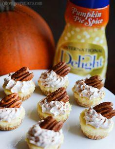 Pumpkin-Pie-Spice-Mini-Cheesecakes-international-delight