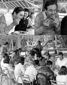 Disney Thanksgiving: I love photos that show Walt Disney doing normal, every day things.  It humanizes the man that became an icon.