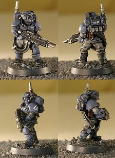 Meine Cadianer - Painted Minis - 40k-fanworld