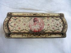 French Vintage Tin Late 1800's