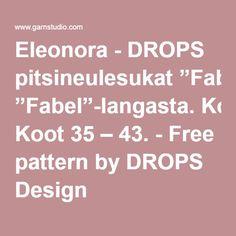 "Eleonora - DROPS pitsineulesukat ""Fabel""-langasta. Koot 35 – 43. - Free pattern by DROPS Design Drops Design, Free Pattern, Tights, Socks, Navy Tights, Sewing Patterns Free, Sock, Panty Hose, Pantyhose Legs"