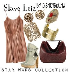 Slave Leia, created by lalakay on Polyvore