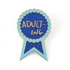 Adulting Lapel Pin Cool Buttons, Quirky Fashion, Themed Outfits, Like A Boss, Animal Jewelry, Lapel Pins, Adulting, Patches, Presents