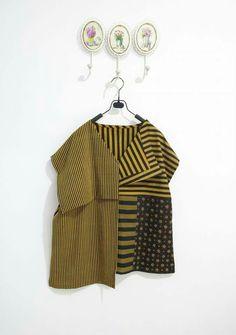Batik Fashion, Ethnic Fashion, Unique Fashion, African Fashion, Korean Fashion, Girl Fashion, Fashion Design, Blouse Batik, Batik Dress