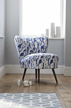 New for 2015, original Bartolomew Cocktail Chair in Splatter by Korla