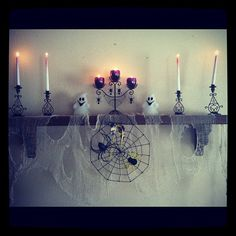 Pin for Later: Celebrate Halloween on a Budget With Inspiration From Instagram Home Candles