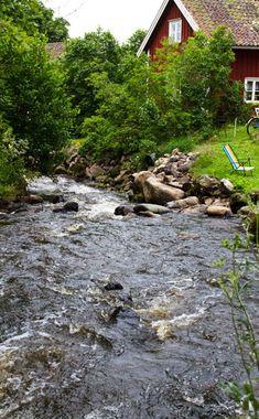 Röttle by, Gränna, Småland, Sweden. UNESCO biosphere Reserve - East Vättern Scarp landscape (Sweden)