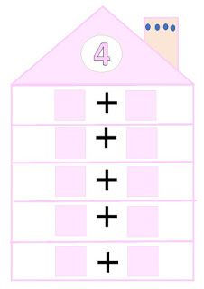 El pupitre: Descomposición de números. Kindergarten Math Activities, Teaching Math, Learning Activities, Number Bonds To 10, School Frame, Math Numbers, First Grade Math, Math For Kids, Numeracy