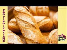 """Receitas fáceis e práticas - Pão Simples """"tipo"""" Italiano - Cozinha prática - YouTube"""
