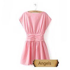 女裝甜美淑女氣質修身款連衣裙84 | Angels