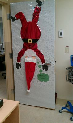 7 Best Images About Christmas Door Decorations On Pinterest | Too Funny Aliens And Image Search & Funny Door Decs u0026 Christmas Decorations For Office Doors Santa ...