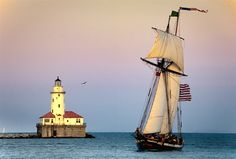 cleveland lighthouse, off whiskey island tall ship celebration! Show Boat, The Buckeye State, Lower Lights, Beacon Of Light, Need A Vacation, Set Sail, Tall Ships, Best Location, Sailing Ships