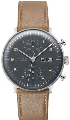 Junghans Watch Max Bill Chronoscope Pre-Order #basel-15 #bezel-fixed…
