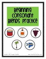 How to teach Beginning Consonants Using the Beginning Consonant Blends Activity, students identify the beginning consonants blends in common words using picture cards. Being able to identify the consonants blends… Kindergarten Language Arts, Teaching Language Arts, Speech And Language, Kindergarten Literacy, Phonics Centers, Phonics Activities, Work Activities, Have Fun Teaching, Teaching Reading