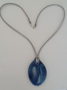 "#Halskette ""mandra azul"" #Schmuck  #Collar ""mandra azul"" #Joyas  #Necklace ""mandra azul"" #Jewellery Jewelry Shop, Handmade Jewelry, Jewellery, Peace And Love, About Me Blog, Diy, Pendant Necklace, Earrings, Jasmin"