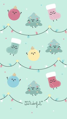 New Totally Free kawaii Christmas Wallpaper Style When The holiday season methods, one of the preferred things by using a lot of people will be adorni Wallpaper Natal, New Year Wallpaper, Wallpaper S, Pattern Wallpaper, Wallpaper Backgrounds, Wallpaper Designs, Christmas Phone Wallpaper, Holiday Wallpaper, Pink Xmas Wallpaper