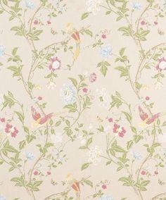 Laura Ashley Wallpaper 2 Rolls Summer Palace Linen