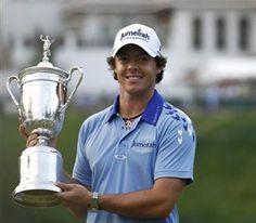 Rory Mcilroy - amazing golfer. love his golf swing!