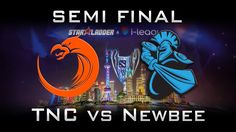 TNC vs Newbee Semi Final Starladder i-league 2017 Highlights Dota 2