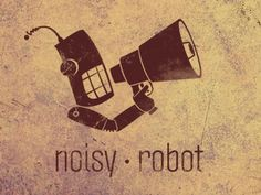 Noisy Robot...how to do this background?