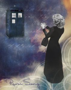 River Song: It's my birthday. The Doctor took me ice skating on the River Thames in 1814. The last of the great frost fairs. He got Stevie Wonder to sing for me under London Bridge. Rory: Stevie Wonder sang in 1814? River Song: Yes, he did! But you must never tell him. Rory: I've come from the Doctor too. River Song: Yes, but at a different point in time. Rory: Unless there's TWO of them. River Song: No, that's a whole different birthday. #DoctorWho #RiverSong