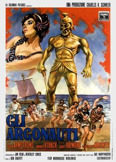 jason and the argonauts poster. This film was on TV almost every Christmas when I was growing up