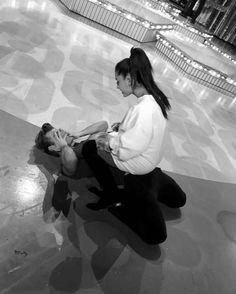 Ariana Grande Straddles Garrett Clayton In Sexy Pic Ahead Of 'Hairspray Live' Bae, Hairspray Live, Raini Rodriguez, Garrett Clayton, Disney Channel Stars, Bonnie N Clyde, Austin And Ally, Rich Life, Celebrity Dads