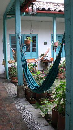Hammocks in Colombia