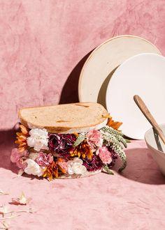 Still life series of impossible vegan bouquets Still Life Photography, Creative Photography, Food Photography, Object Photography, Product Photography, Spoiled Kids, Vegan, Food Design, Set Design